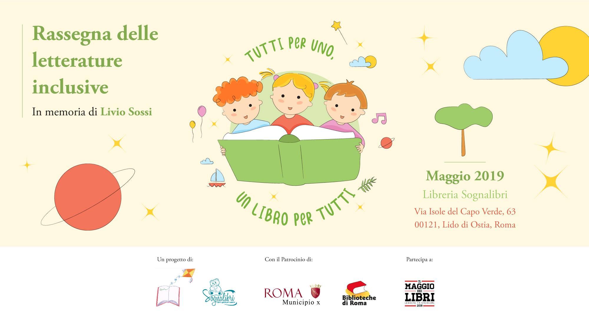 banner rassegna letterature inclusive logo