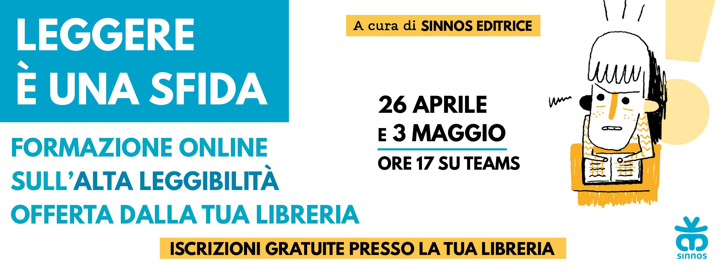 LEGGERE È UNA SFIDA – Formazione online sull'Alta leggibilità – SOLD OUT!!